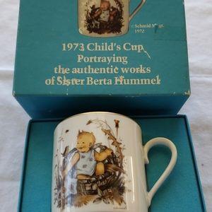 Hummel 1973 Baby Cup
